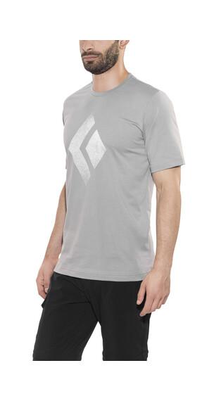 Black Diamond Chalked Up t-shirt Heren grijs